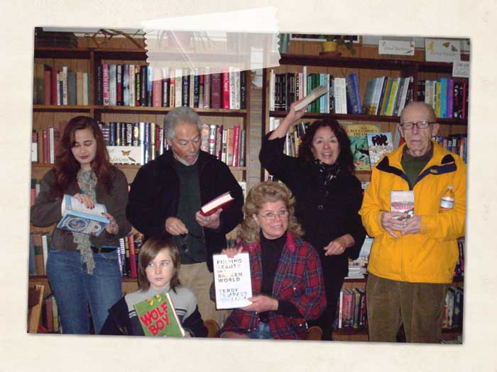 Staff and Friends at Watershed Books
